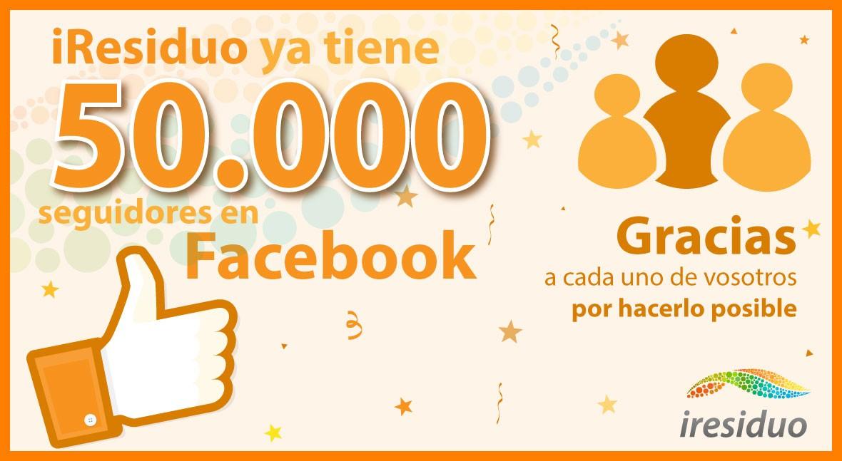 iResiduo supera 50.000 fans Facebook, mayor comunidad hispana sector residuos