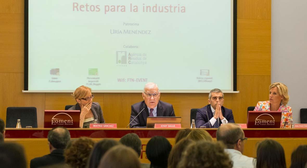 patronal catalana afirma que marco legal traslado residuos genera inseguridad jurídica