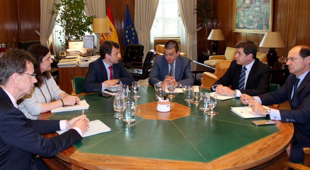 MAGRAMA, Castilla- Mancha y Madrid analizan incendio Seseña y actuaciones adoptar