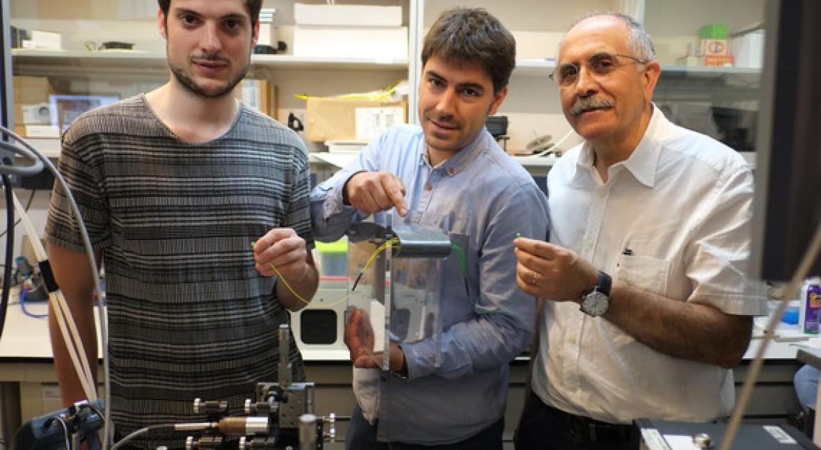 Diseñan sensor fotónico ultrasensible que registra pequeñas concentraciones contaminantes