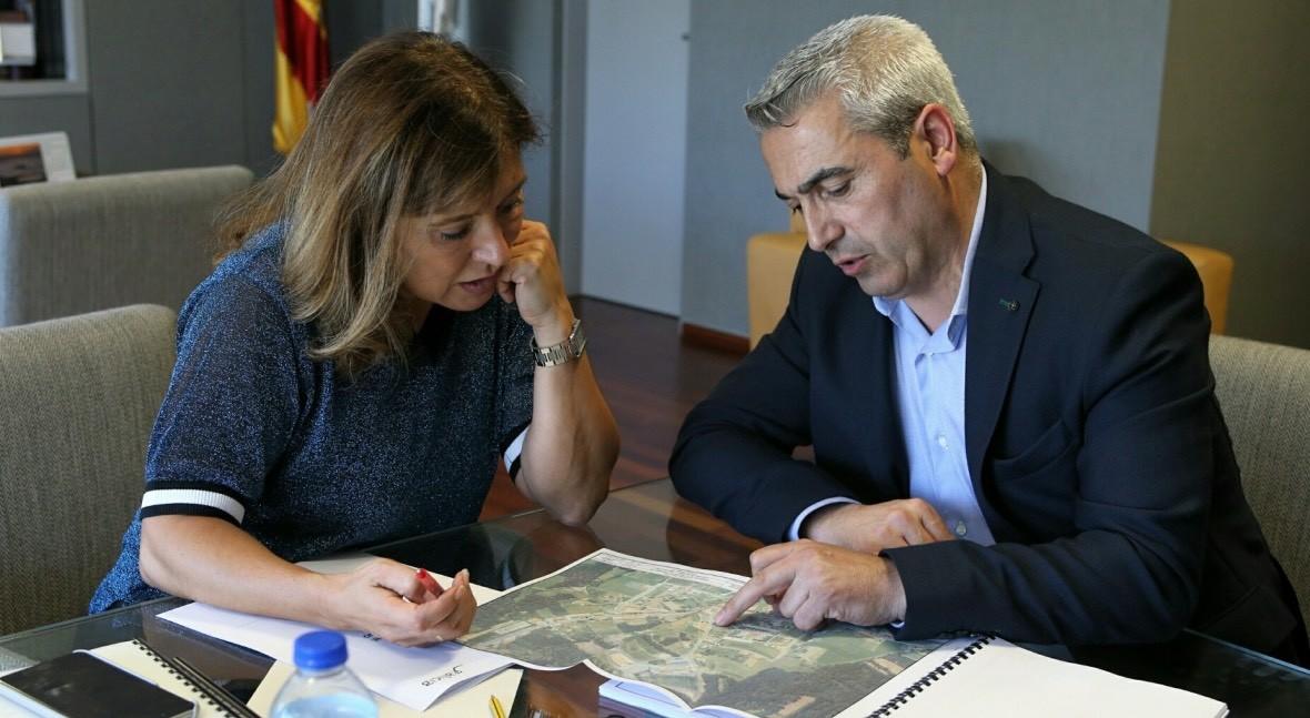 Xunta Galicia financiará instalación varios contenedores enterrados O Pino