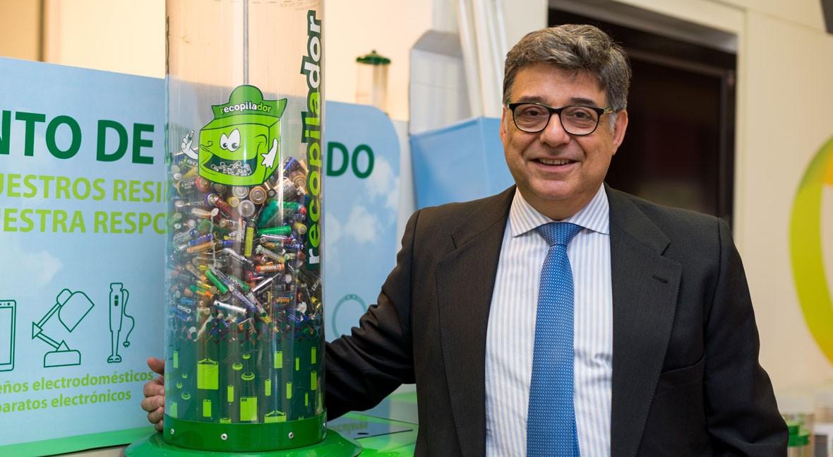 """José Pérez: """"Estamos mitad tabla reciclaje residuos electrónicos Europa"""""""