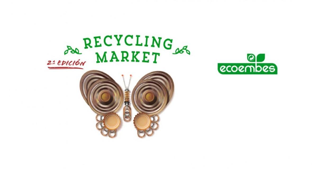 """Ecoembes celebra II edición """"Recycling Market"""", mercado productos reciclados"""