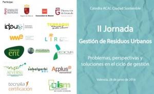 II Jornadas Gestión Residuos Urbanos: Problemas, perspectivas y soluciones ciclo gestión
