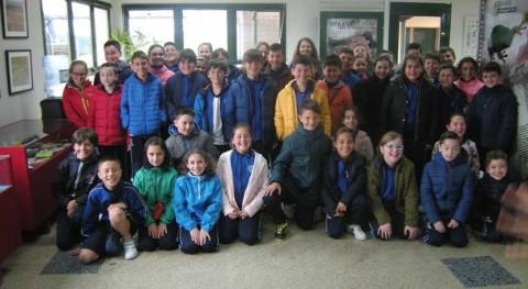 """alumnos colegio """"Sagrado Corazón Jesús"""" reclaman mayor protección naturaleza"""