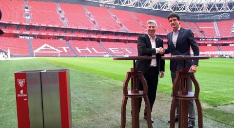 Bizkaia y Athletic Club colaboran impulsar reciclaje