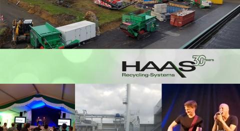 HAAS celebra 30 años