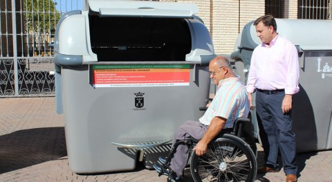 Albacete gana estética, limpieza y accesibilidad instalación nuevos contenedores