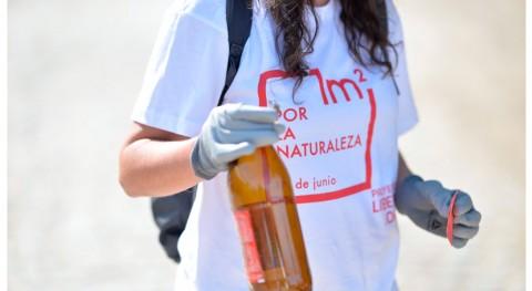 """campaña """"1m2 naturaleza"""" consigue retirar 83 toneladas basuraleza"""