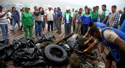 200 voluntarios recogen 4 toneladas residuos fondo marino Bahía Ancón