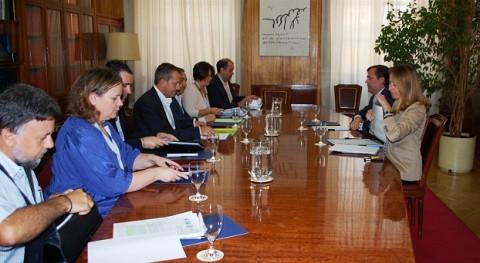 Federico Ramos recibe organizaciones agrarias y cooperativas abordar normativa residuos