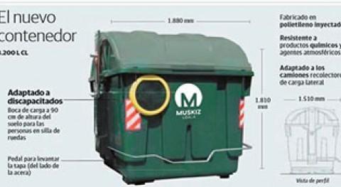 Muskiz pone marcha varias medidas mejora recogida residuos