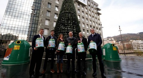 Bizkaia impulsa reciclaje vidrio y lucha pobreza infantil