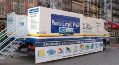 punto limpio móvil Santander recogió más 30.000 kilos residuos 2012