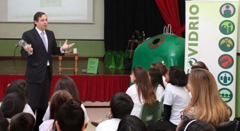 MAGRAMA apoya campaña centros escolares promover reciclado vidrio