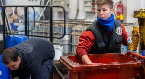 Zaragoza duplica año recogida aceite contenedores