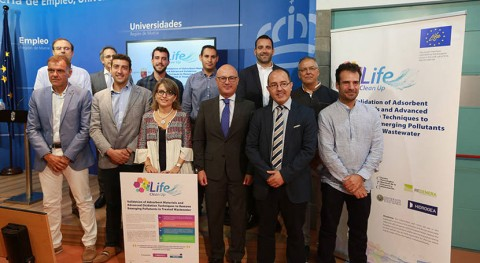 Optimizar limpieza aguas residuales, objetivo proyecto Life Clean Up
