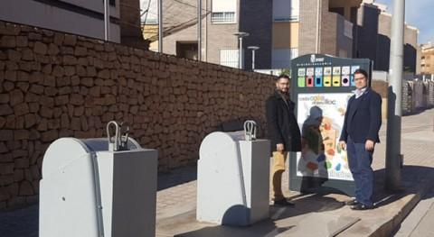 Alcora instala 6 nuevos puntos reciclaje