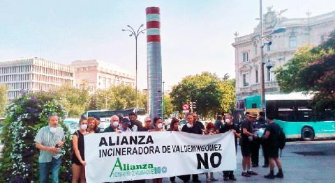 """Alianza """"Incineradora Valdemingómez No"""" reclama acabar incineración Madrid"""