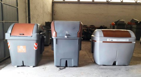 Alicante implanta quinto contenedor recogida materia orgánica