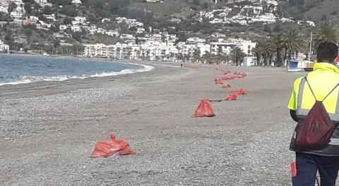 Retirado más millón kilos residuos depositadas arrastres ríos Almuñécar
