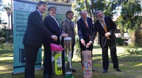 Andalucía avanza gestión residuos pilas y acumuladores