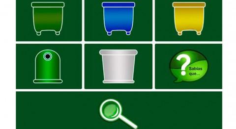 App Sogama, herramienta bolsillo resolver dudas reciclaje tiempo real