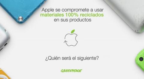 Apple, primera empresa tecnológica que se compromete usar materiales 100% reciclados