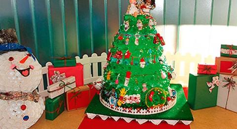 V Concurso Árboles Navidad Reciclados Gijón ya tiene ganador
