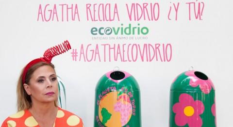 Sostenibilidad y reciclaje vidrio, protagonistas colección Agatha Ruiz Prada