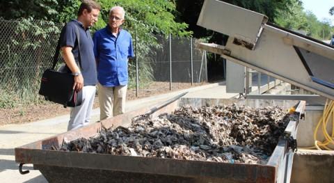inodoro no es papelera: Girona retira cada mes 7 toneladas toallitas húmedas EDAR