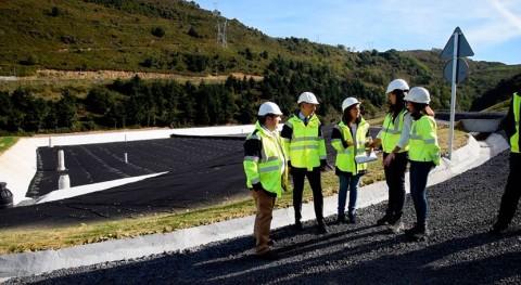 Bizkaia lleva residuos al vertedero Artigas concluir obras nuevo vaso vertido