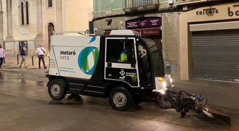 FCC Medio Ambiente renueva contrato recogida residuos y limpieza varia Mataró