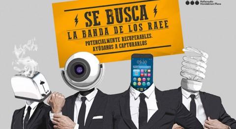 marcha I Concurso Recogida Residuos Aparatos Eléctricos y Electrónicos Navarra