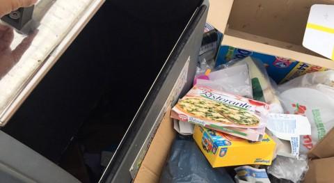 Problemas basura contenedores barrio Estación, Colmenar Viejo