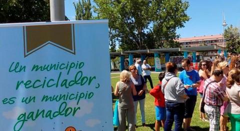 """Benavente, ganador """"Contenedor Oro"""" mes julio"""