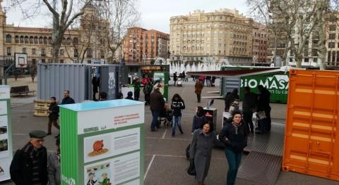 """exposición """"Biomasa tu casa"""" desembarca Valladolid"""