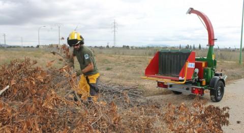 Ibanat se equipa dos biotrituradoras producir biomasa