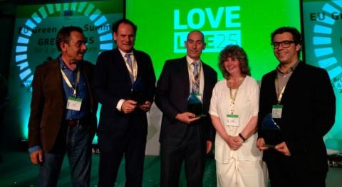 proyecto Bread4PLA valorización residuos panadería recibe Green Award