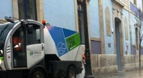 Gijón invierte 1,2 millones euros sustitución 5 camiones, 1 barredora y 2 baldeadoras