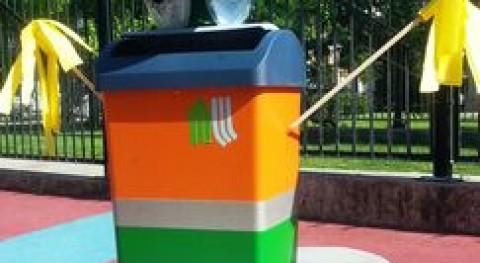 """EEI Gloria Fuertes barrio Llano ganadora concurso """"Gijón capital reciclaje"""""""