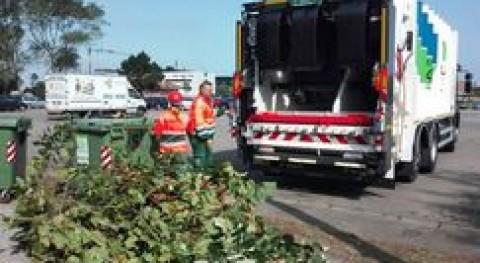 Gijón estrena nuevo camión recolector bicompartimentado Servicio Parques y Jardines