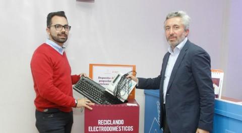 Lanzarote fomenta reciclaje pequeños electrodomésticos instalando 60 contenedores isla