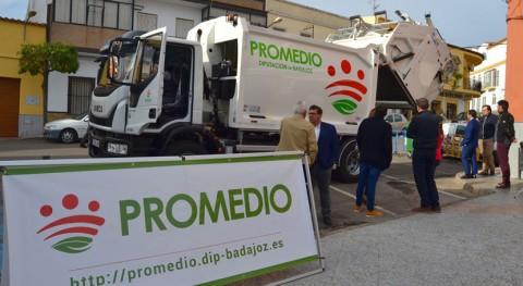 nuevo camión basura Calamonte crece facilitar recogida sola ruta