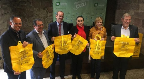 Impulso al reciclaje Camino Santiago
