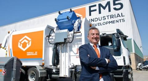 Nuevo camión recolector basuras tecnología avanzada