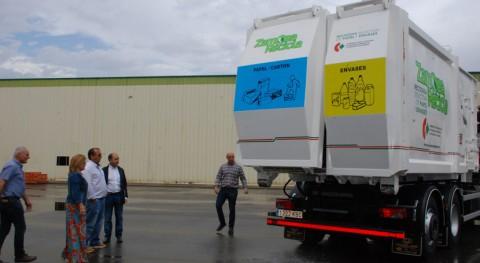 Zamora estrena 3 nuevos camiones recogida selectiva envases y papel provincia