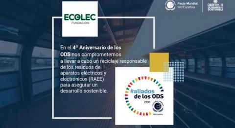 Fundación ECOLEC combate Cambio Climático través consecución ODS