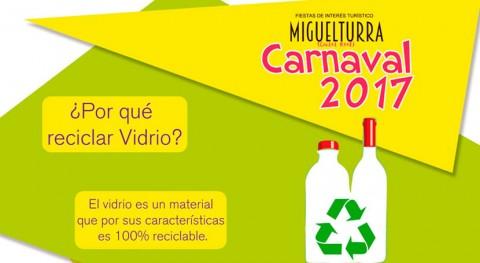 Cámbiame: marcha campaña reciclaje Miguelturra carnavales