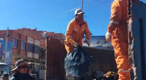 ciudad boliviana Desguadero recolecta 20 toneladas residuos jornada